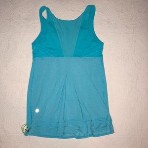 🍋 Lululemon Sea Blue Workout Tank